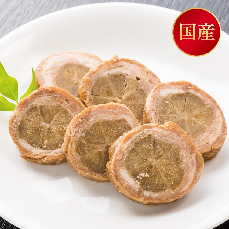 国産豚肉ごぼう巻【6切入】