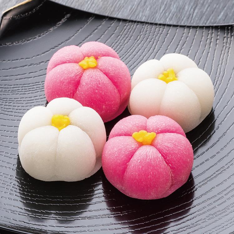 花餅紅白梅【4個入】